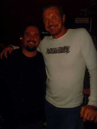 Meeting DDP my yoga instructor and pro-wrestling legend - November 2008