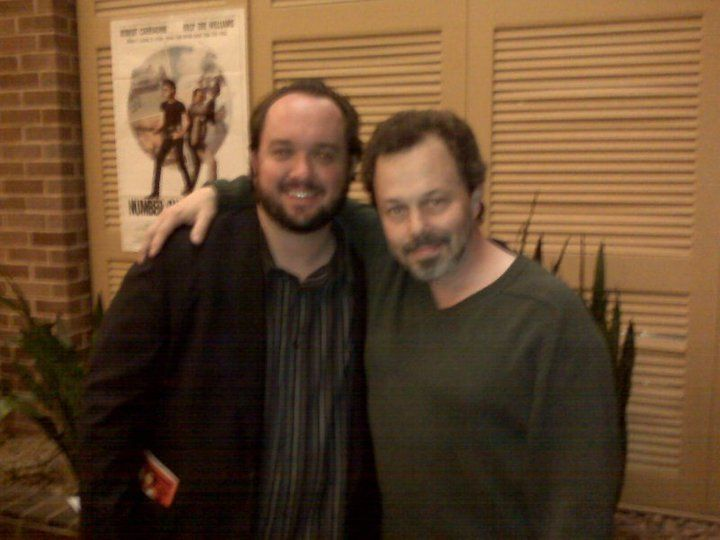 Meeting the great Curtis Armstrong - April 2010