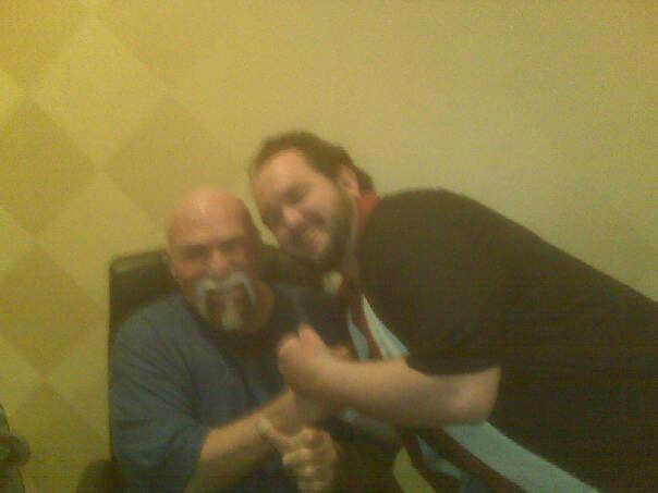 Meeting the Superstar! - April 2010