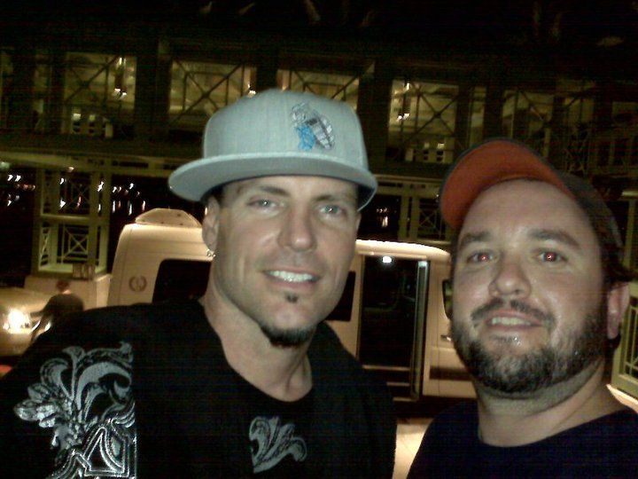 Meeting Vanilla Ice, a super nice guy - July 2010