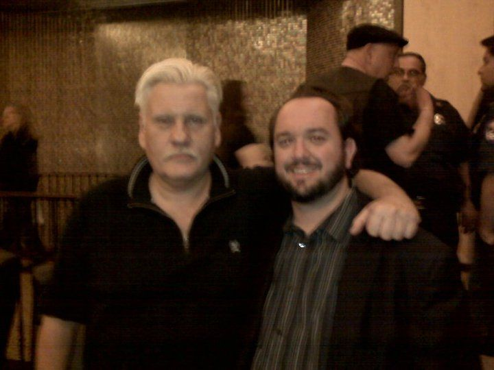 Meeting William Forsythe, great actor, great guy - April 2010