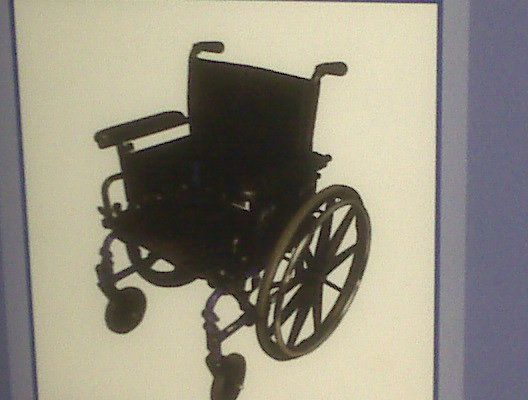 A wheelchair - 2009
