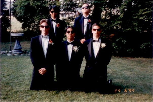 Senior Prom before the madness - 1994
