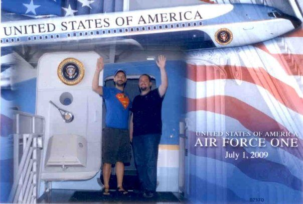 Boarding Air Force One - July 2009