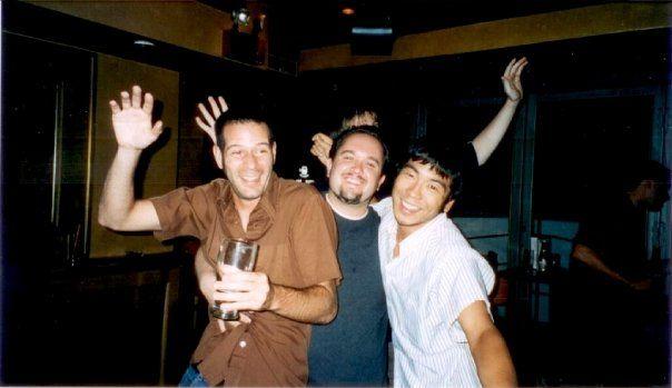 Goofing at Ryan's Tavern - 1999